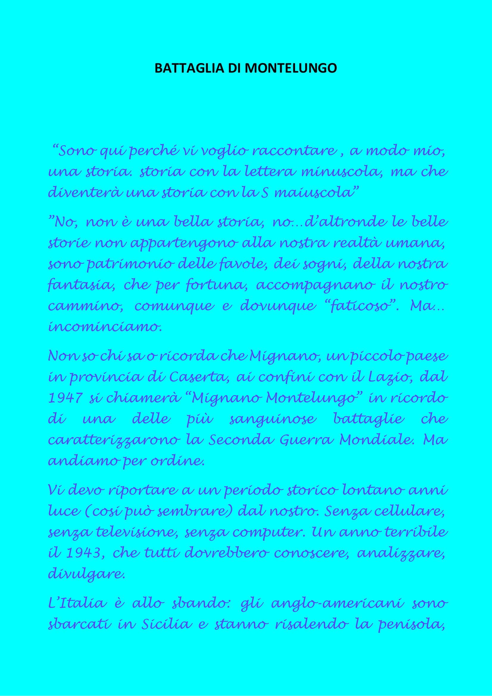 BATTAGLIA DI MONTELUNGO-1